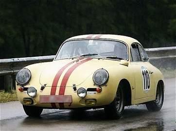 12: Porsche 356 Carrera 2, GT version, lightweight, 196