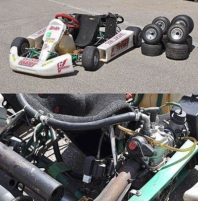 16: Racing kart, built by Tony Kart (Italy)