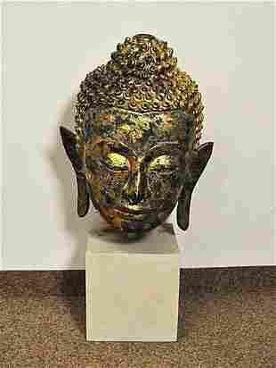 Head of a Buddha Sukothai Buddha