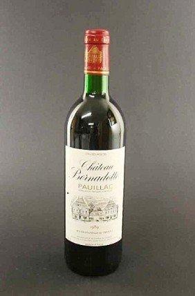 10 Bottles Of Chateau Bernadotte, Cru Bourgois, Pa