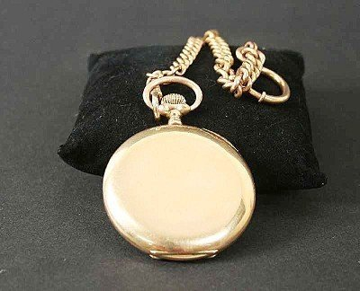 804: Gentleman's watch, Savonette 585