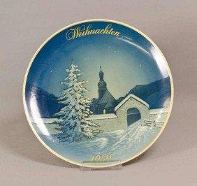 17: Rosenthal Weihnachtsteller, Christmette, 1959, Will