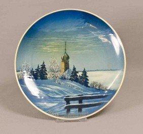 20: Rosenthal Weihnachtsteller, Heiligabend, 1962, Will