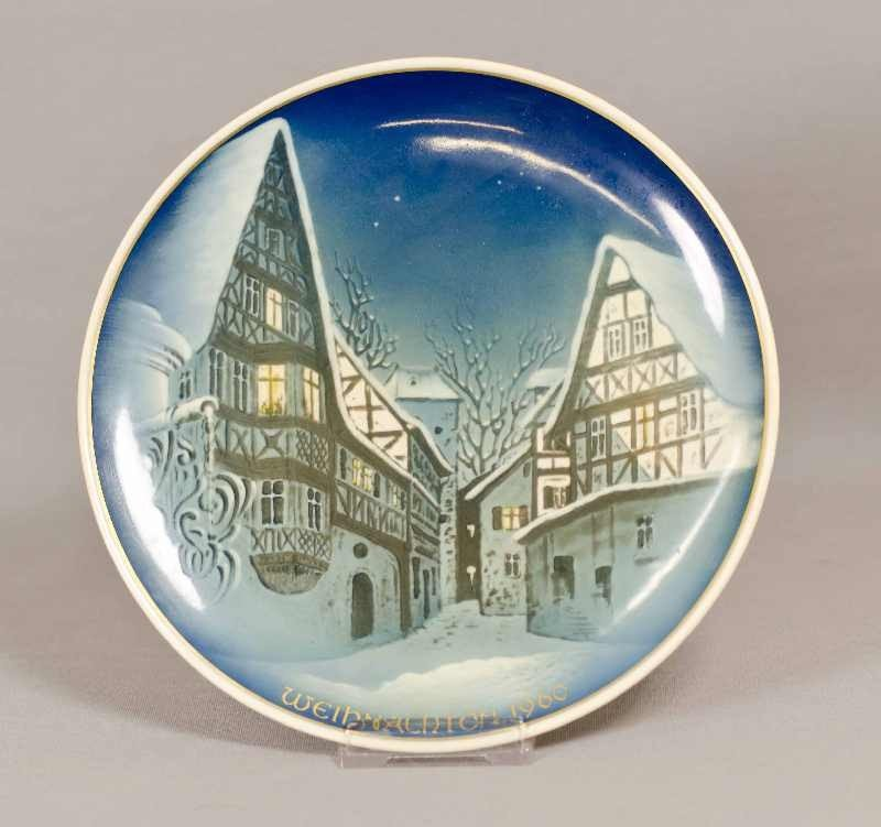 Rosenthal Christmas Plate, collector plate from 1960