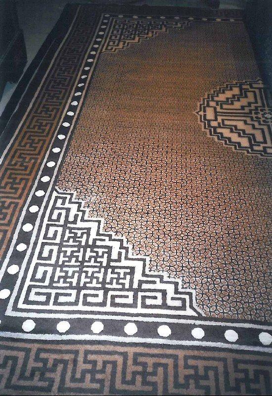 China antique carpet, China prior to 1900