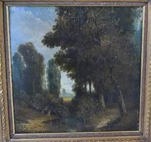 """DIAZ DE LA PEÑA, Narcisse Virgile """"Fontainebleau"""""""