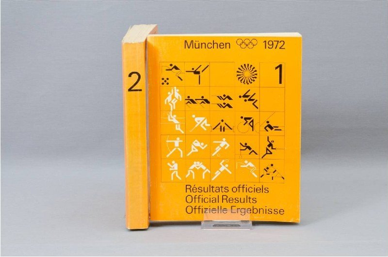Munich Olympics 1972, Official Results, Volume 1