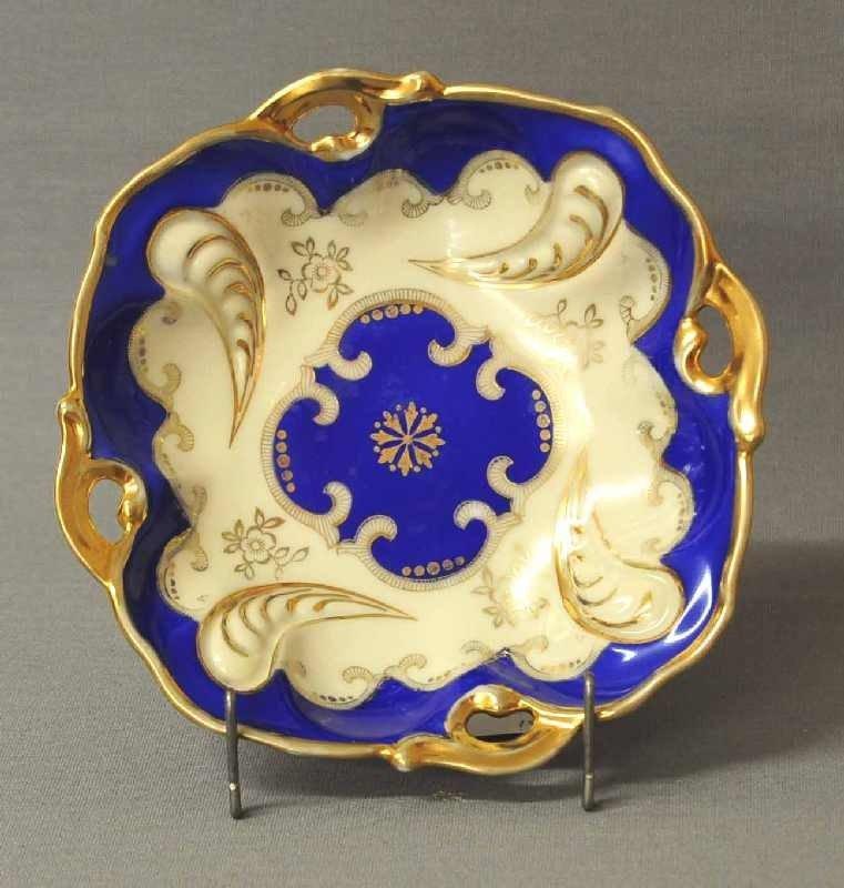 interesting small ceremonial plate, Oscar Schlegelmilch