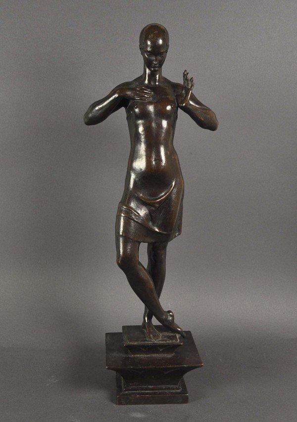 Liebermann, Ferdinand (1883-1941), standing female nude