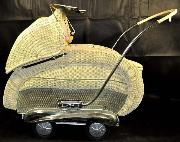 Stroller from the 50s, perfect condition, complete with