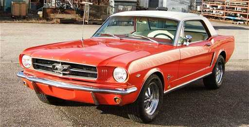 63: Ford Mustang 289 V8, 1965