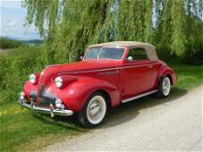 71: Buick Century Convertible Coupe Serie 66C, 1939