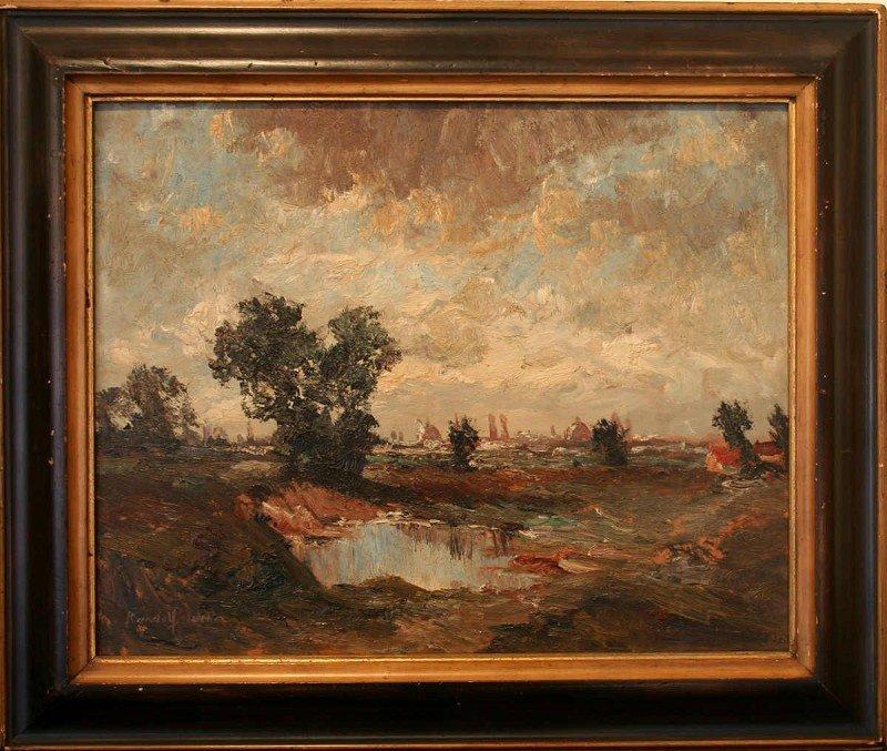 """WEHN, Randolf (1911 München – 1987) """"Dachau Moss"""""""