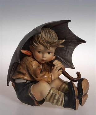 """Hummel, """"Salvaged (boy)"""", great figure of a searchin"""