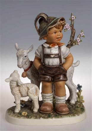 "Hummel, ""Ziegenbub"" (Champion Edition 2010), size 34"