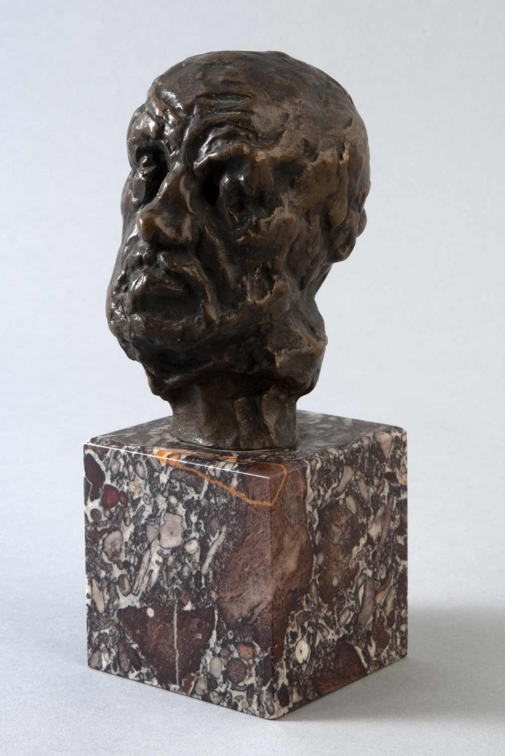 """7: RODIN, Auguste (1840 - 1917) """"The Man with the Broke"""