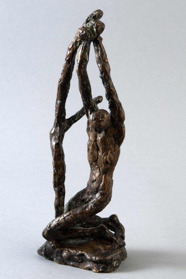 "8: Albiker, Dr. Karl, (1878-1961) sculpture ""Saint Seba"