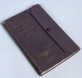 "7: Handbuch ""Instructions for the Running & Maintenance"