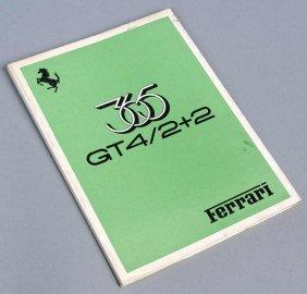 12: Handbuch, Ferrari 365 GT 4/ 2+2 (engl., ital., frz.