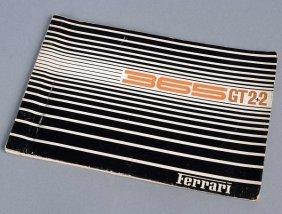 13: Handbuch Ferrari 365 GT 2+2 (engl., ital., frz.), E