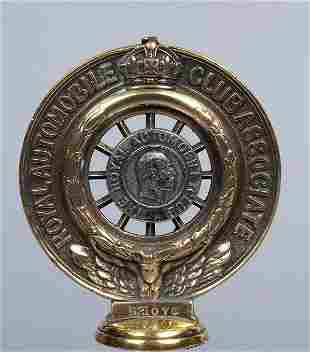 "Kühlerfigur des ""Royal Automobile Club"" in England,"