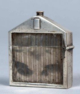 24: Rolls Royce Miniaturkühler als Streichholzbehälter,