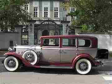 "70: Cadillac ""Imperial"", Seven Passenger, 1931 original"