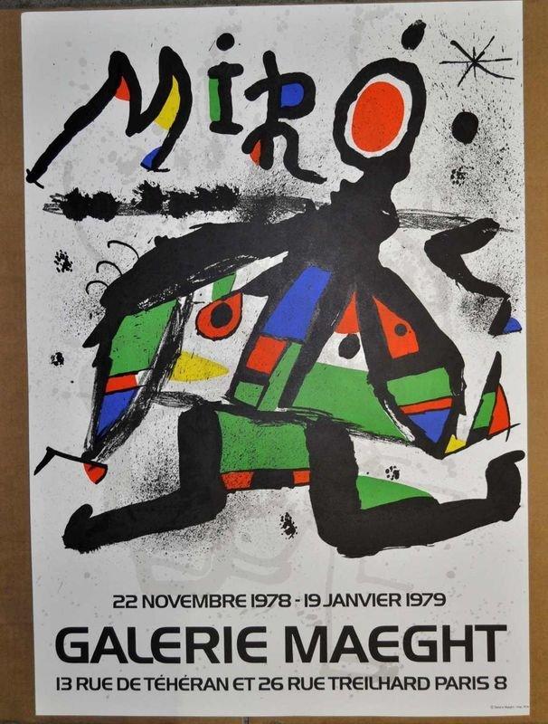 8: MIRO, offset printing, Galerie Maeght, Paris 1978-19