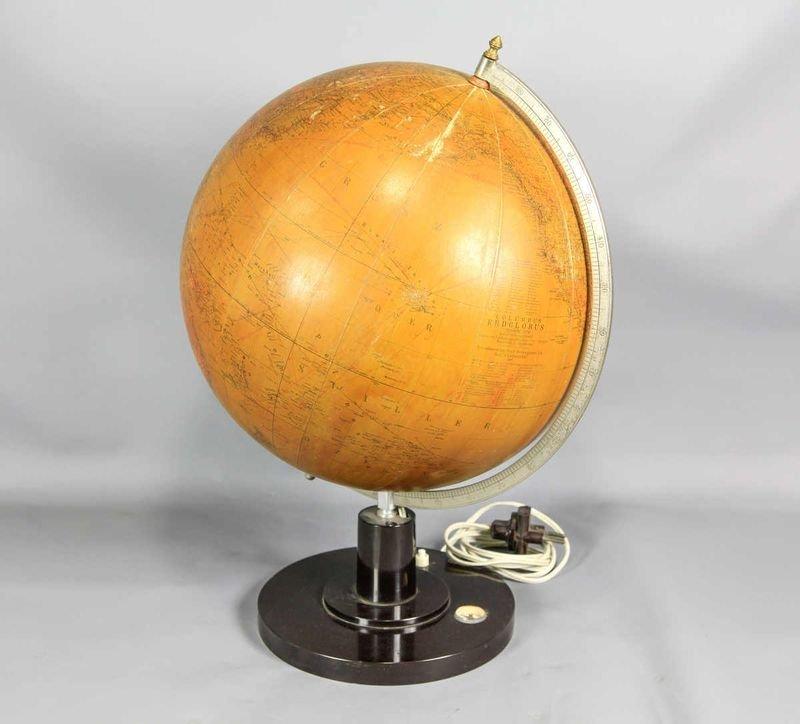 17: Age globe, terrestrial, illuminated, illumination a