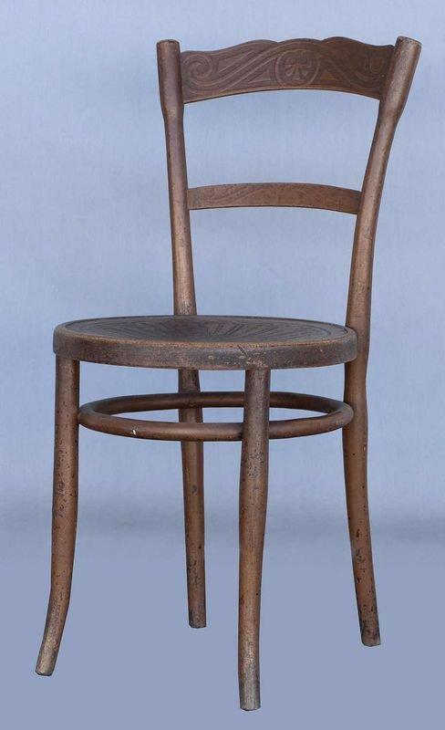 1657: Jacob & Josef Kohn, 2 bentwood chairs, early prod - 3