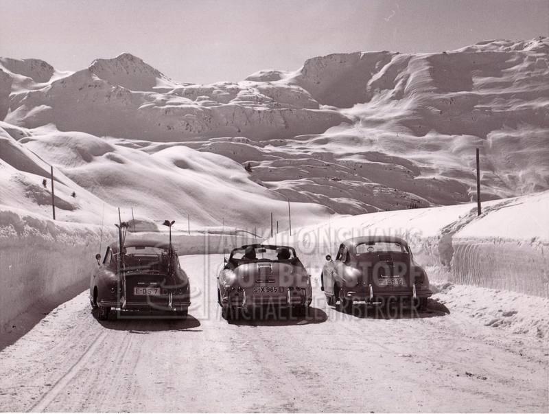 """""""Arlberg Pass Porsche 365"""""""