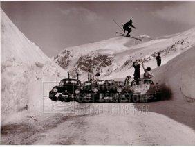 """7: """"Porschesprung 356"""", 3 Aufnahmen Originalarchiv Hans"""