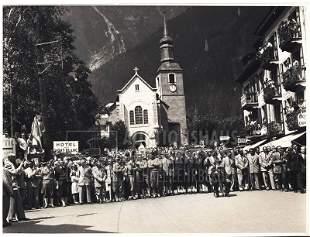 """""""Bergsteigerfest in Chamonix"""", 166 Aufnahmen Origina"""
