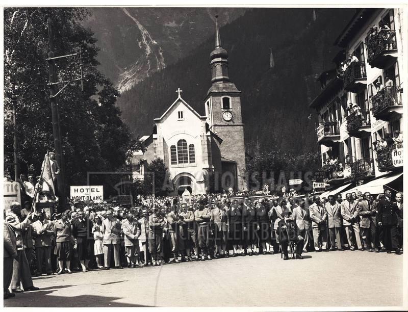 """9: """"Bergsteigerfest in Chamonix"""", 166 Aufnahmen Origina"""