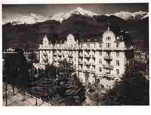 """""""Hotels"""", 65 Aufnahmen von Bau des Grand Hotel Bris"""