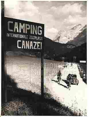 """""""Camping"""", 281 Aufnahmen Originalarchiv Hans Truöl,"""