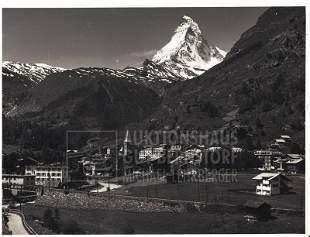 """Zermatt"", 151 Aufnahmen Originalarchiv Hans Truöl,"