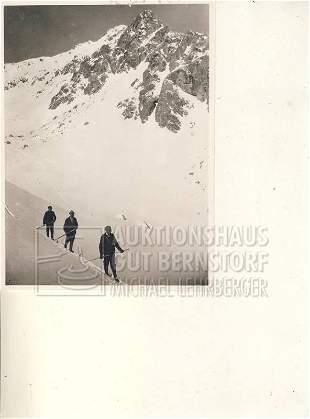 """""""März 1902 in Oberstorf"""", 1 Aufnahmen Originalarchi"""