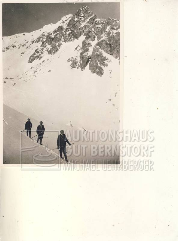 """16: """"März 1902 in Oberstorf"""", 1 Aufnahmen Originalarchi"""
