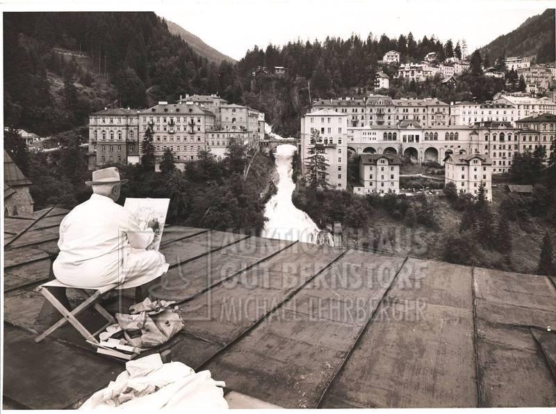 """21: """"Bad Gastein"""", 179 Aufnahmen Originalarchiv Hans Tr"""