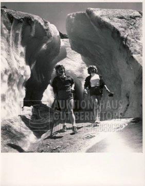 """24: """"Gletscher"""" 66 Aufnahmen, u.a Gletscher am Montblan"""
