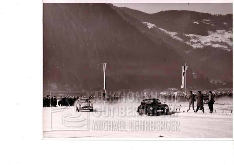 """867: """"Porscherennen 1960 Zell am See"""", 75 Aufnahmen von"""