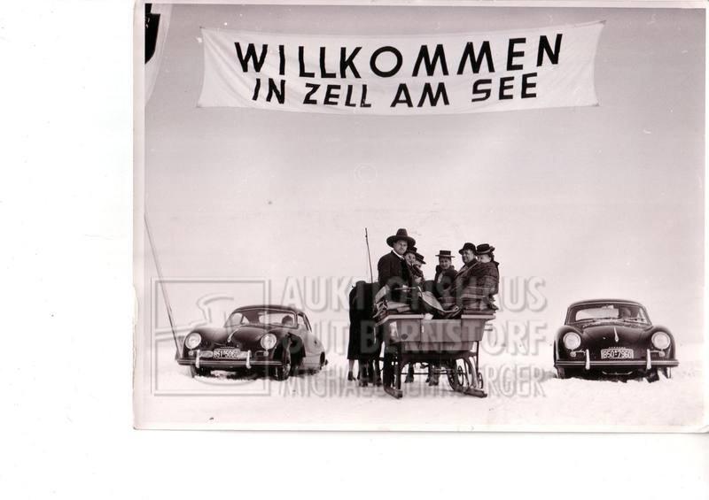 """867: """"Porscherennen 1960 Zell am See"""", 75 Aufnahmen von - 3"""