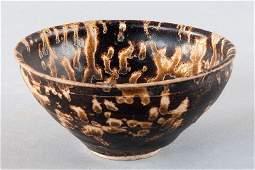 Jizhou tea bowl, China, Song dynasty (960-1297 AD), Tur