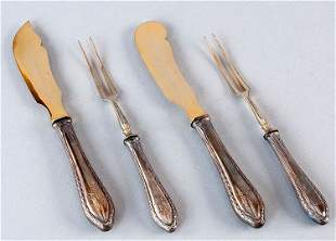 Cheese, butter knife 800 'Silver, holiday in original b