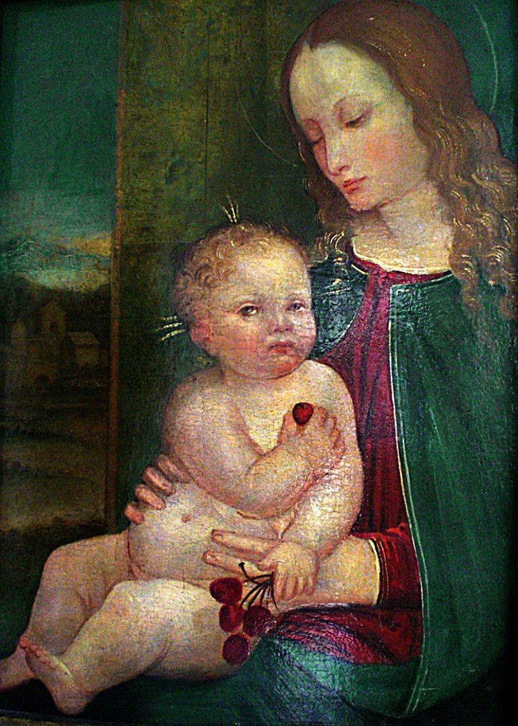 Madonna and Child, a fine old master paintings in the s