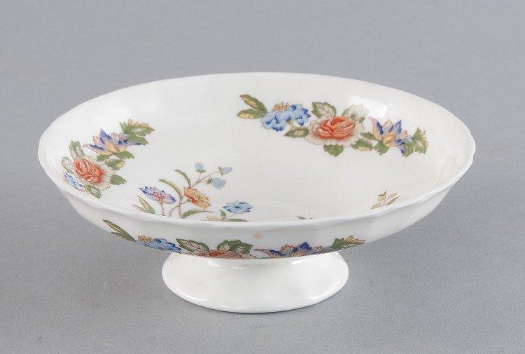 Anbietschälchen, a small foot, floral decoration, depic