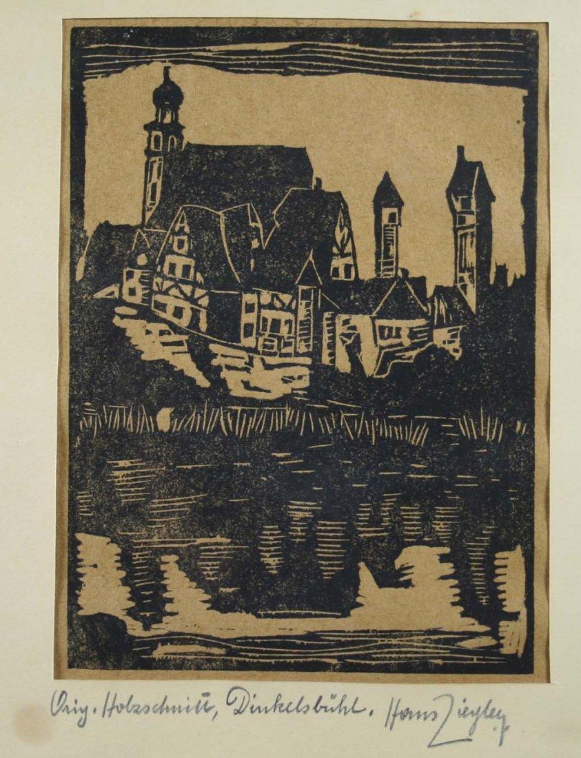 """NIEDERMEYER, HANS (*1884 Regensburg - ?), """"Im Winkel"""