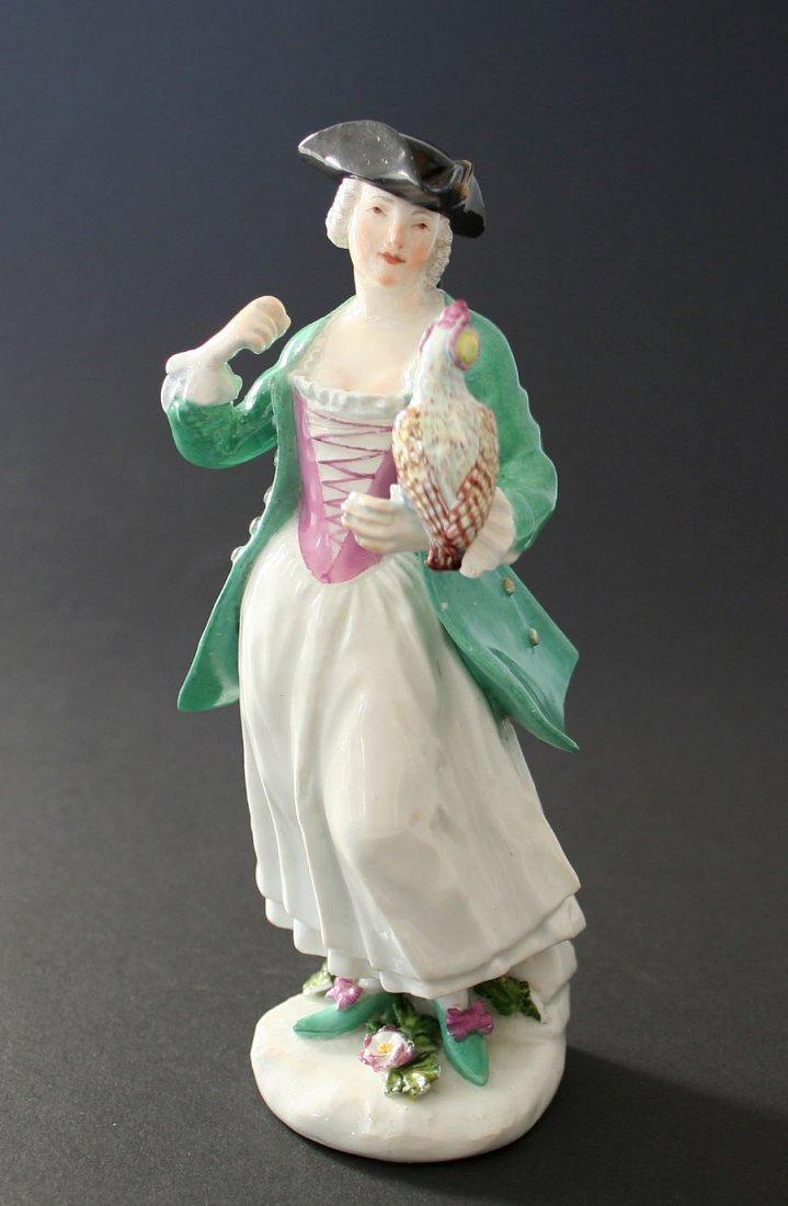 Falconer, Meißen, circa 1740, figural porcelain
