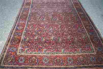 Keshan, rarely to 1900/1920, virgin wool on cotton,